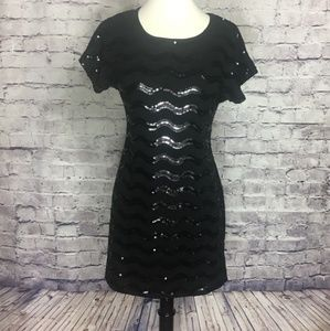 Sequence Casual Black Tee Dress